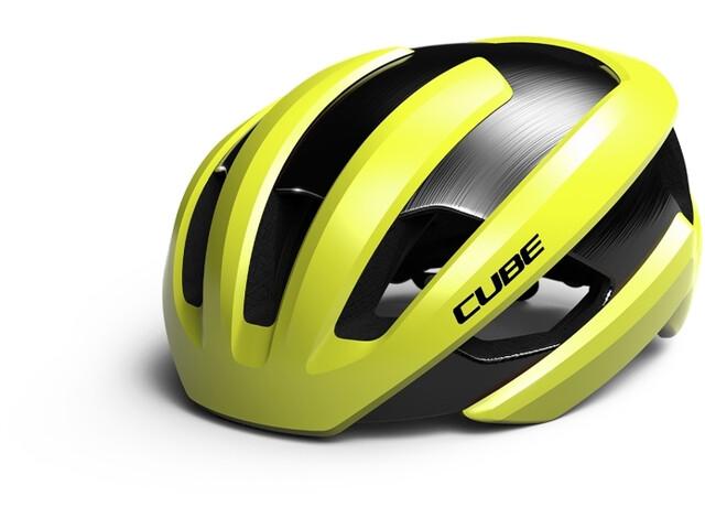 Cube Heron Helmet yellow